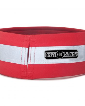 overcollar in doggone red